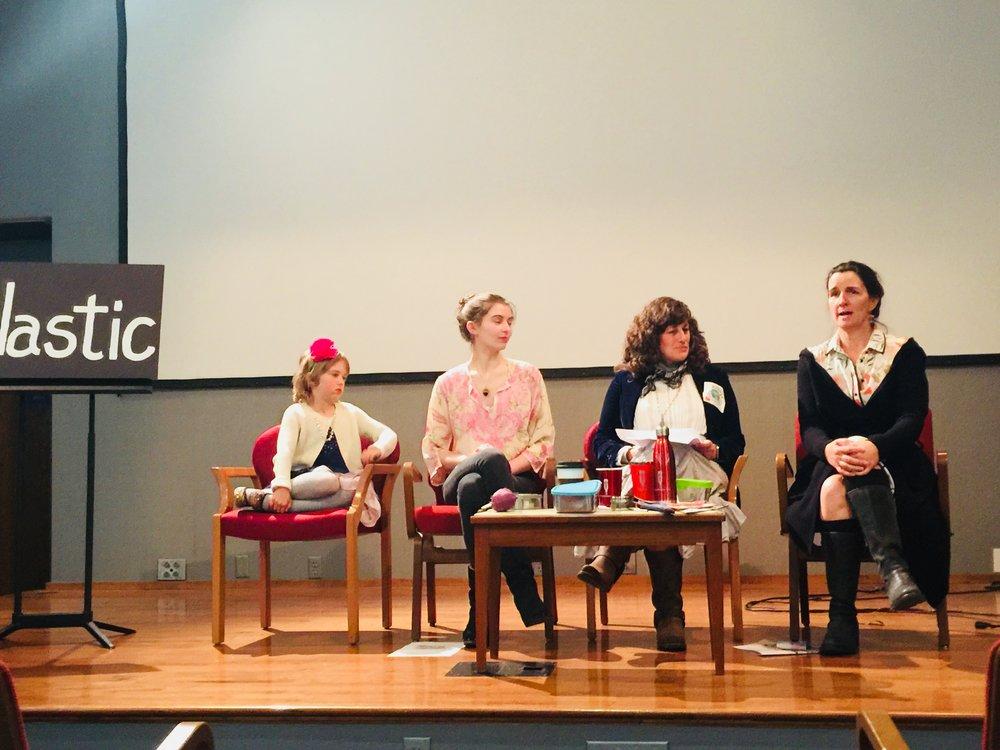 Helena, Charlotte, Julia Cohen, and Ann Luskey