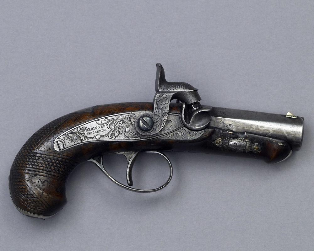 Mr. Deringer's derringer .41 Cal Black Powder Single Shot
