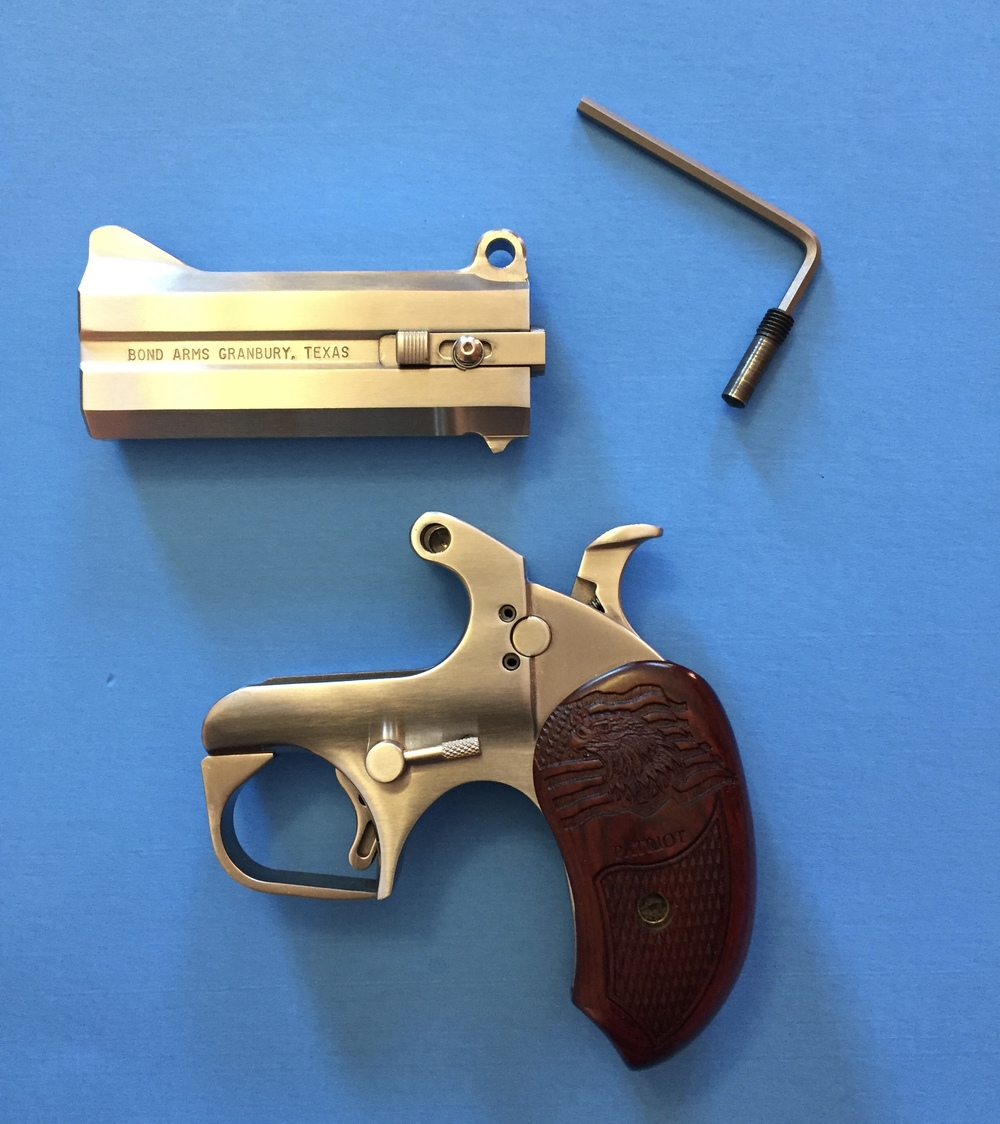 the bond arms patriot is it the best carry gun self defense carry
