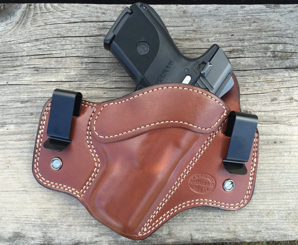 D. M. Bullard's Dual Carry Holster with the Ruger SR9c
