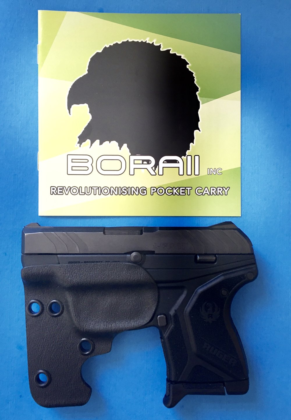BORAII and the Ruger LCP II