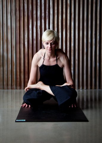 "Ashtanga classes have been her ""go-to"" practice for getting back to basics over the years."