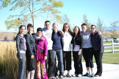 Original teachers at Breathe Yoga Studio in SLC, Utah.