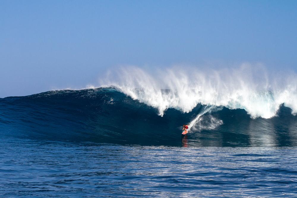 Tyler Larronde at Peahi, Jaws