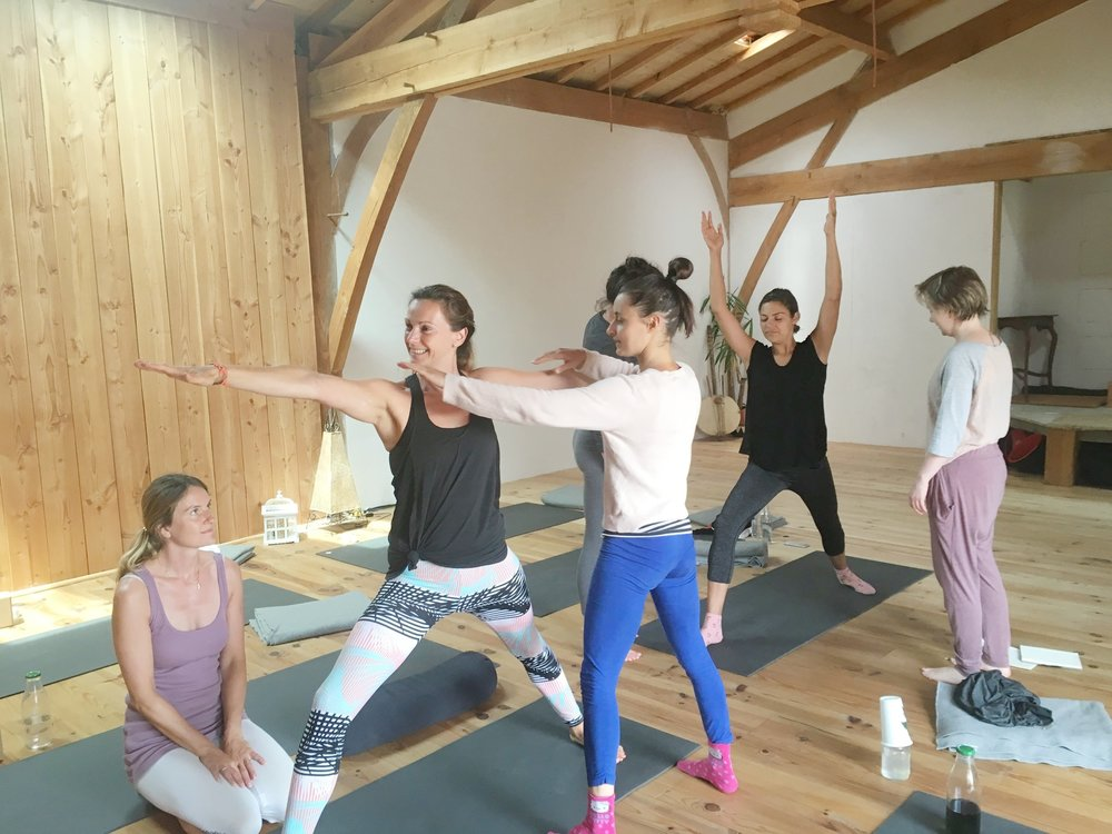 Learn to Teach Yoga - Learn In Comfort With Intimate & Transformative Yoga Teacher Training Certificate Programs