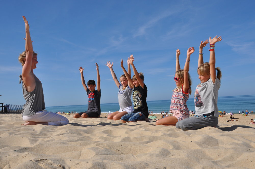 NEW Children's Yoga Teacher Training - Learn more about the 95 hours Children's Yoga Certificate Teacher Training Program at Yoga Beach House with YogaBeez.