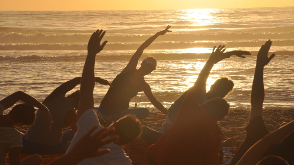 Summer Beach Yoga Retreat - with Rachel & James