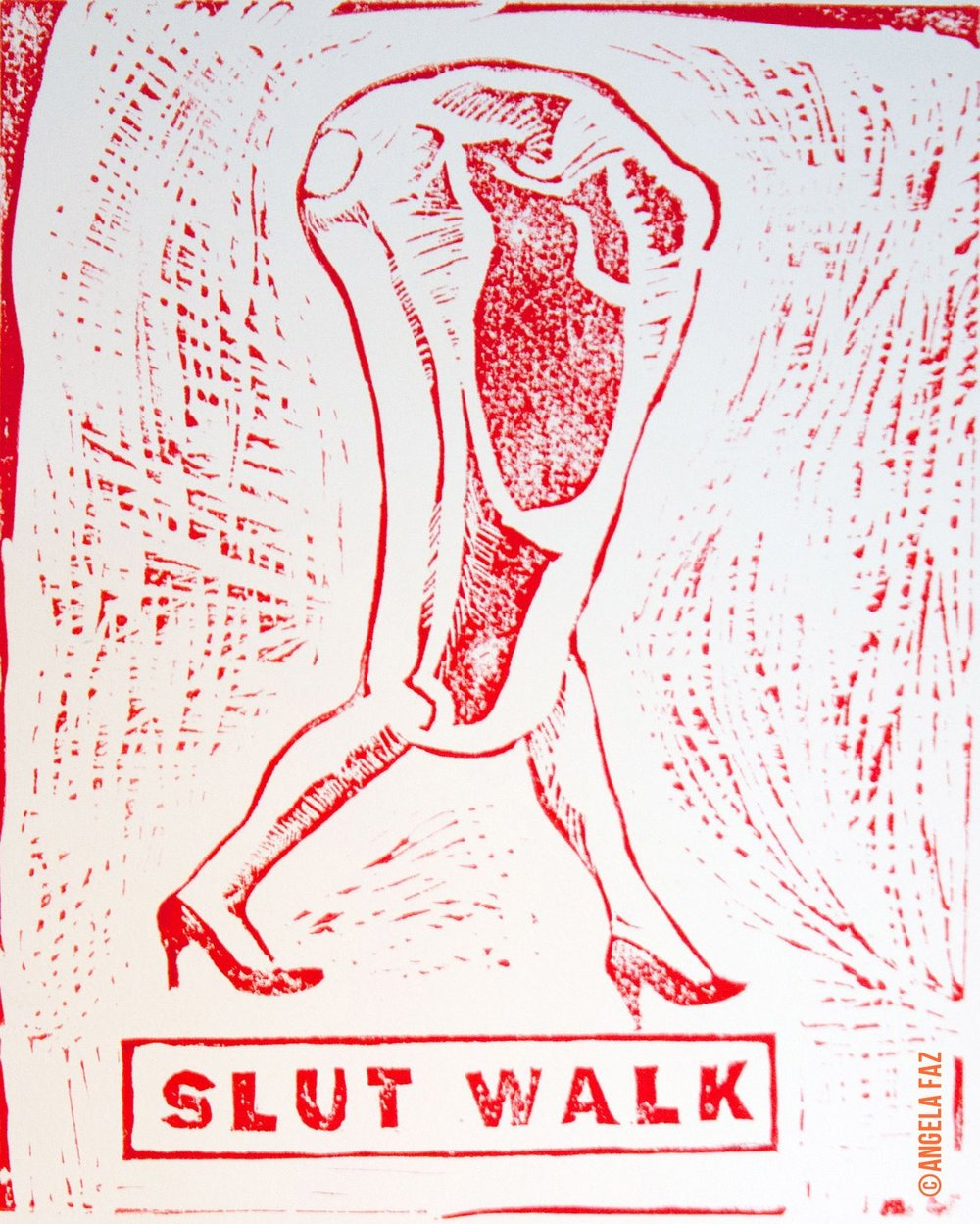 Slut Walk, 2011, Angela Faz