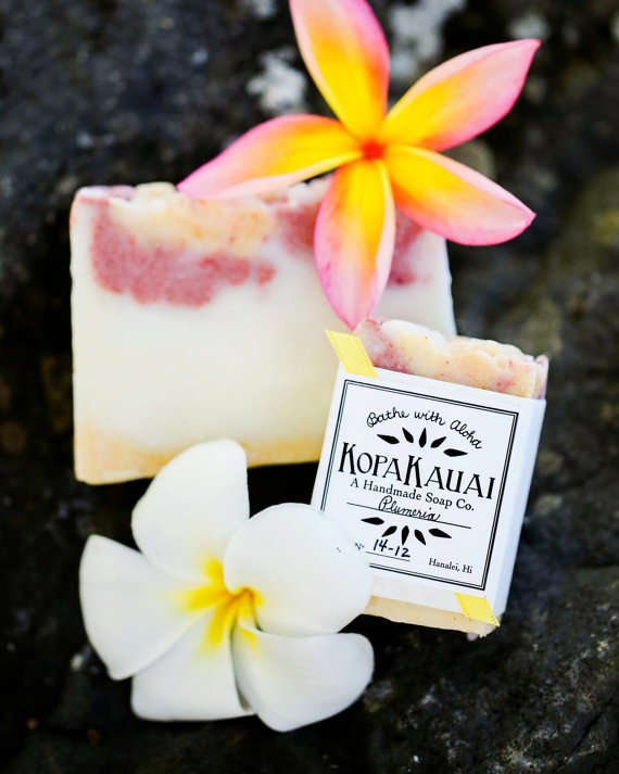 Absolutely wonderful soothing and fragrant soaps from Kauai. We bathe with these every day. These bars last a long time and are very reasonably priced. You will NOT be disappointed.  To order, CLICK the link below   :      http://www.etsy.com/shop/KopaKauai