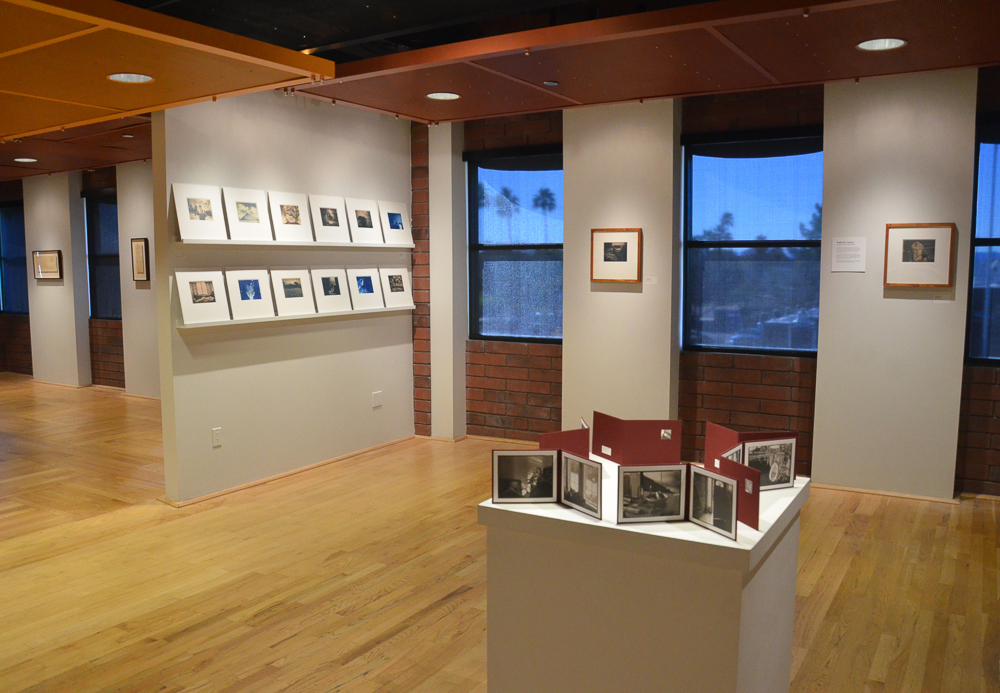 Installation view at Art Intersection in Gilbert, Arizona in the exhibition,  Homebound , curated by Carol Panaro-Smith.