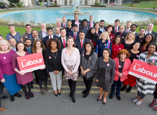 the waltham forest labour 2018 team, spearheaded by our leader clare coghill.