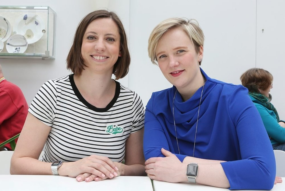 Stella Creasy MP with Leader of Waltham Forest Council, councillor Clare coghill