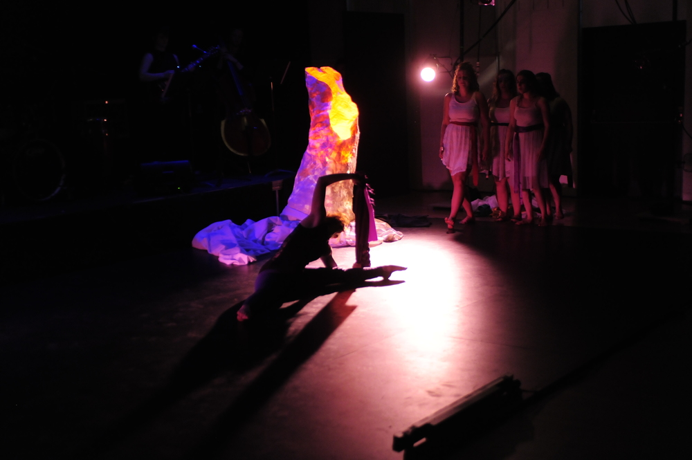 unravel , 2014 Naropa University Performing Arts Center, Boulder CO Creator, Composer, Director, Set Designer, Co-Choreographer