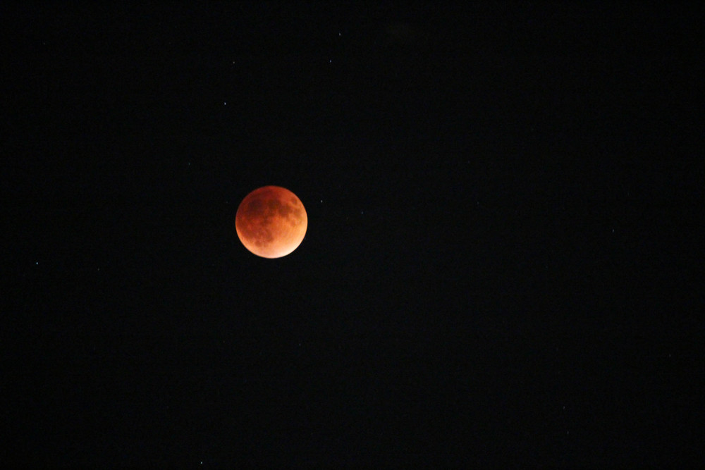 September 27th, 2015 - Full Blood Moon, Eclipse.