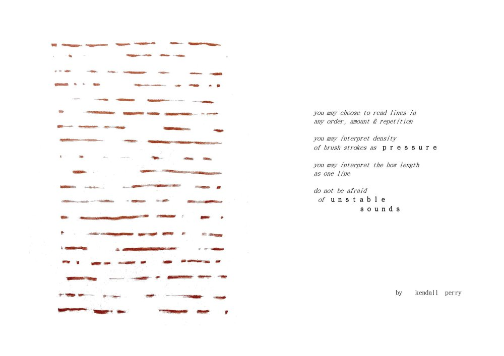 Edges Of graphic/text score, created for Freedom of Movement Festival