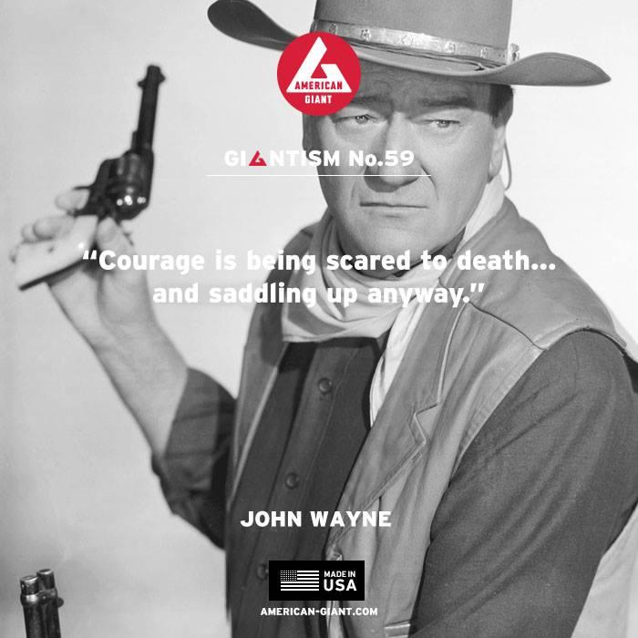 American Giant, AG, Giantism, John Wayne