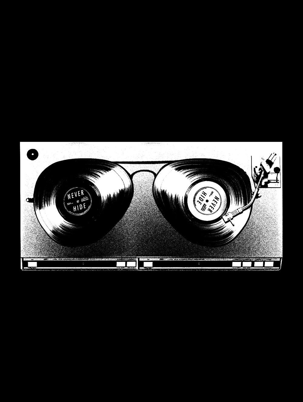 Ray-Ban, Never Hide, Records