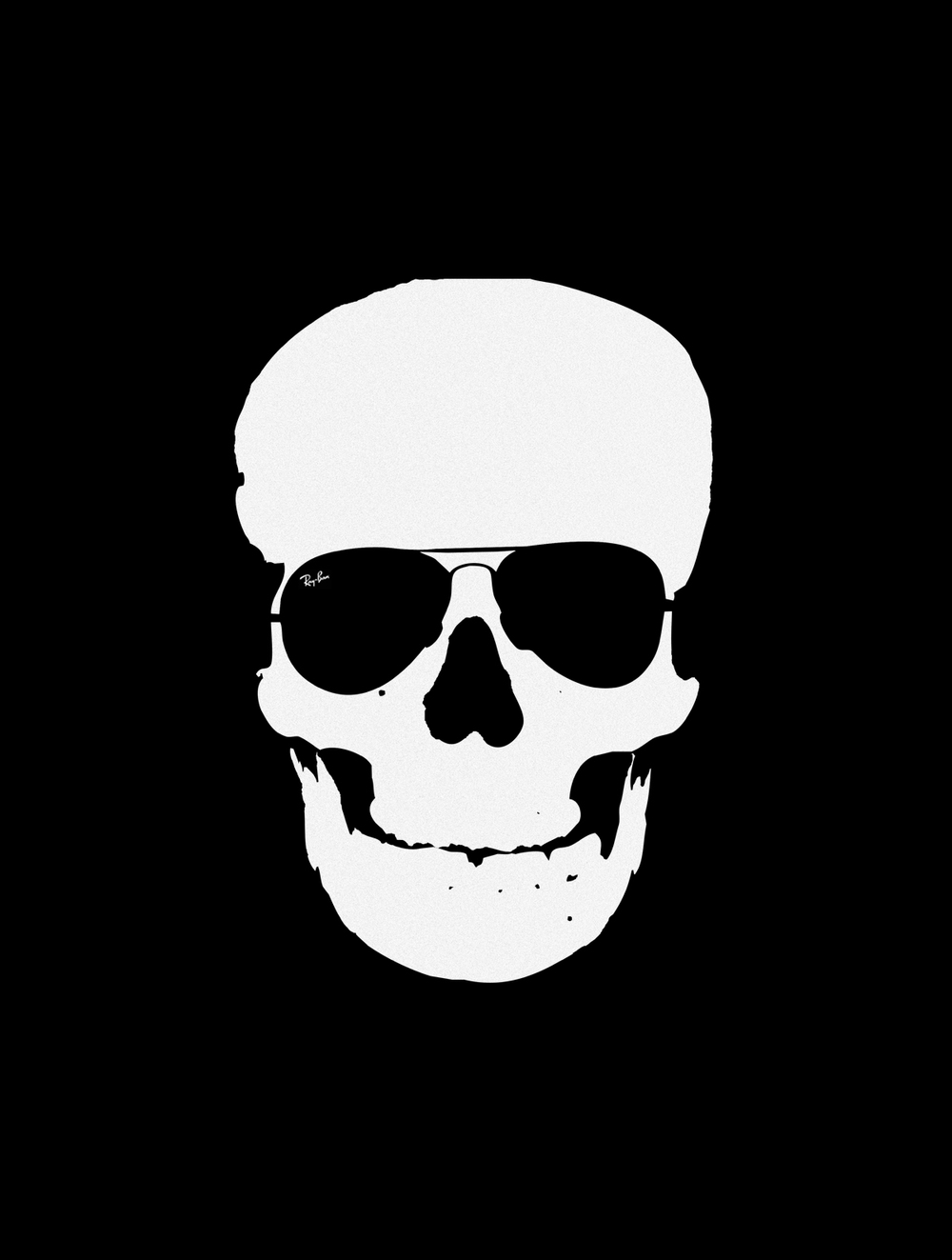 Ray-Ban, Never Hide, Skull