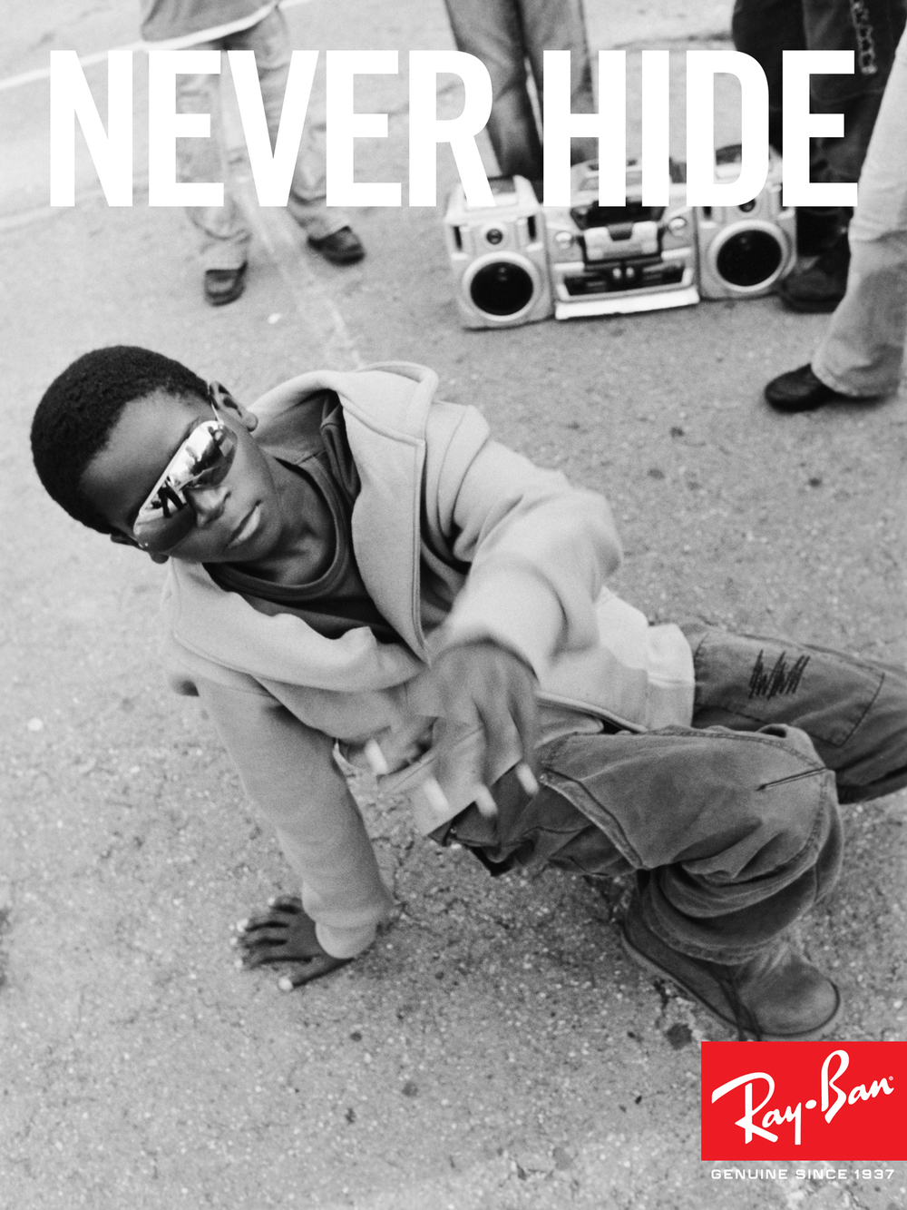 Ray-Ban, Never Hide