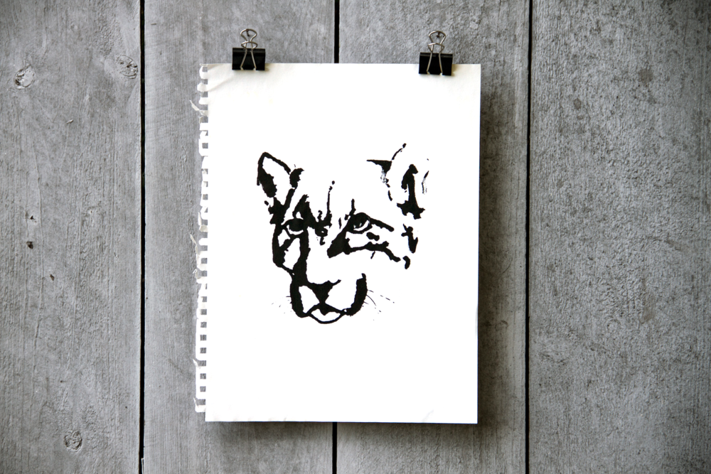 Cougar Screenprint