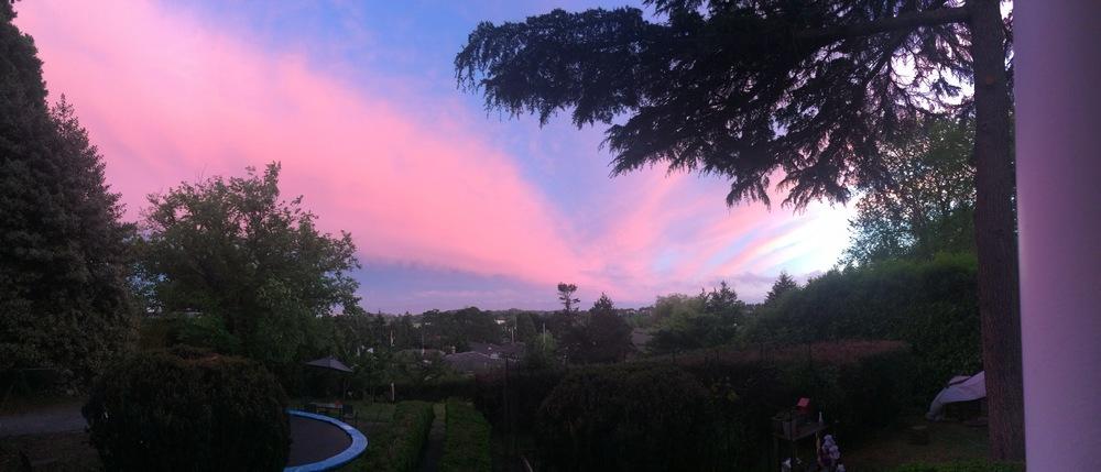 One of the many beautiful sunsets we have enjoyed