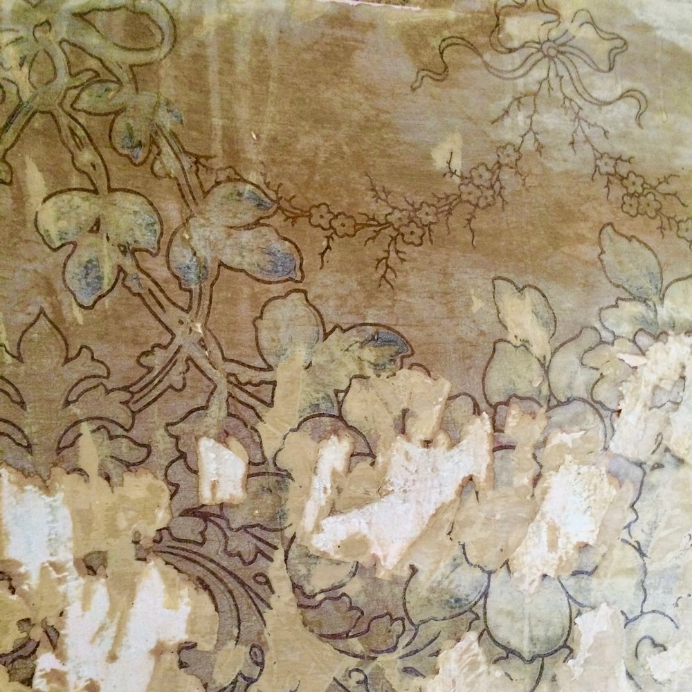Detail of the wallpaper