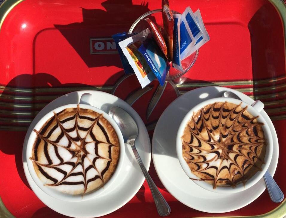 Cappuccino in Narni