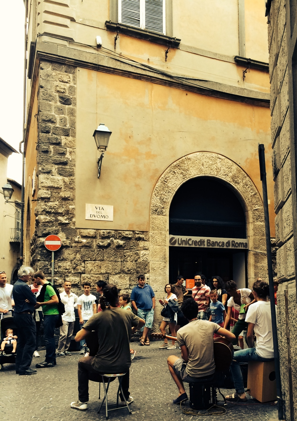 Music on the Streets of Orvieto
