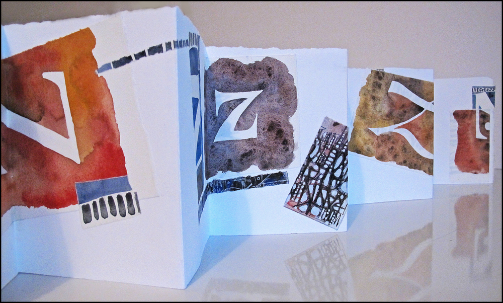 Accordion Book: Suzi Zimmerer
