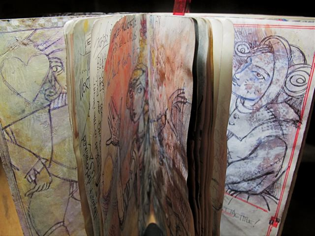 Journal Pages, Suzi Zimmerer