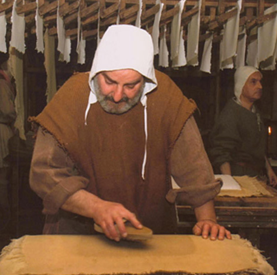 The papermaker in Bevagna