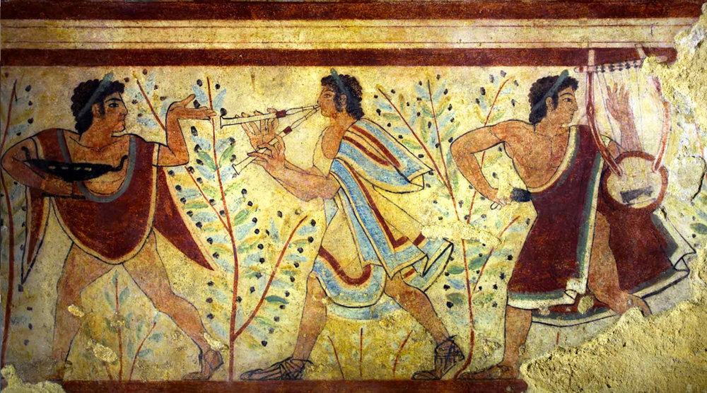 Etruscan art in Tarquinia