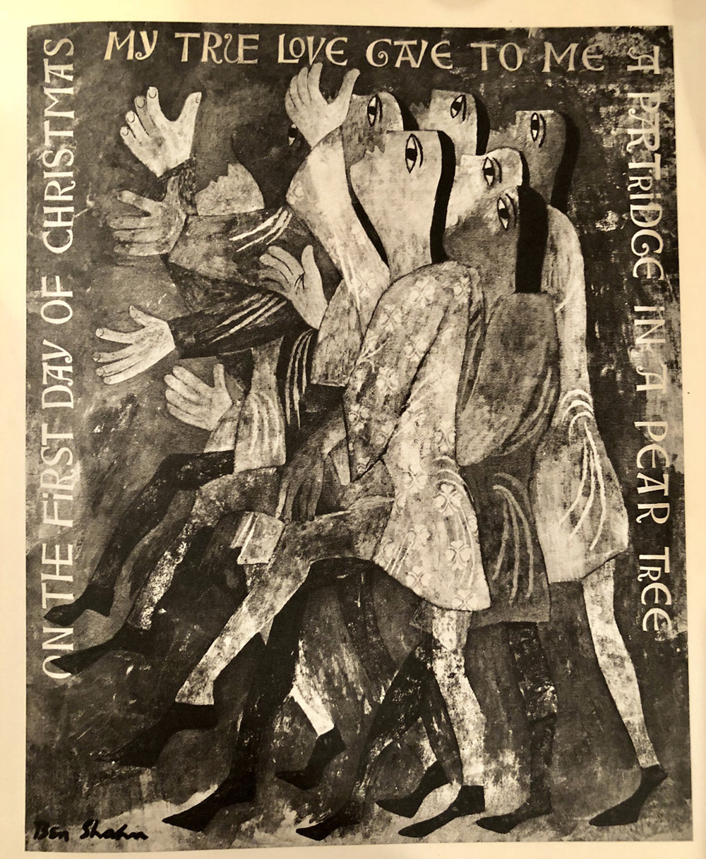 On the First Day of Christmas,  Ben Shahn