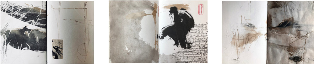 Book pages (left to right): Jean Lopez, John Hammons, Trish McKinney