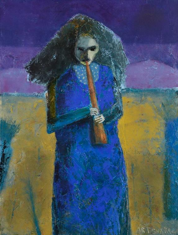 Sonata,  painting by Rodney Hatfield