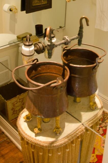 Powder room sink collaboration