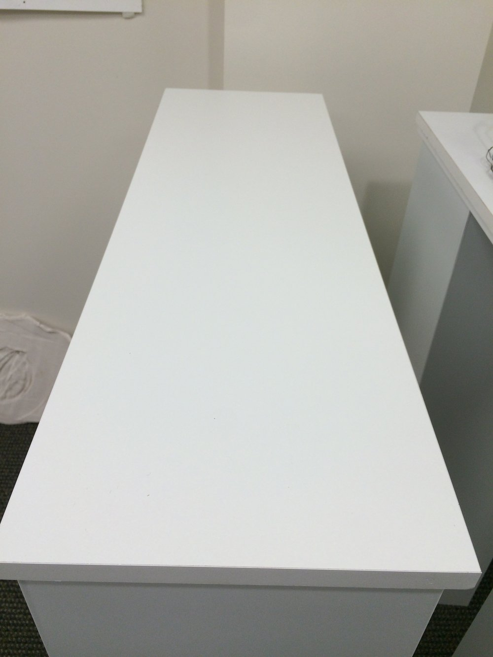 Like a blank canvas