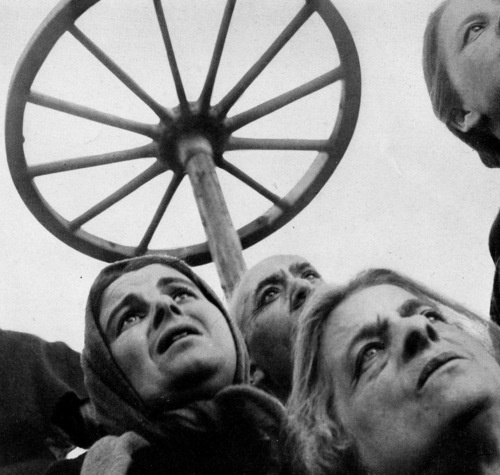 Film Still from  The Passion of Joan of Arc