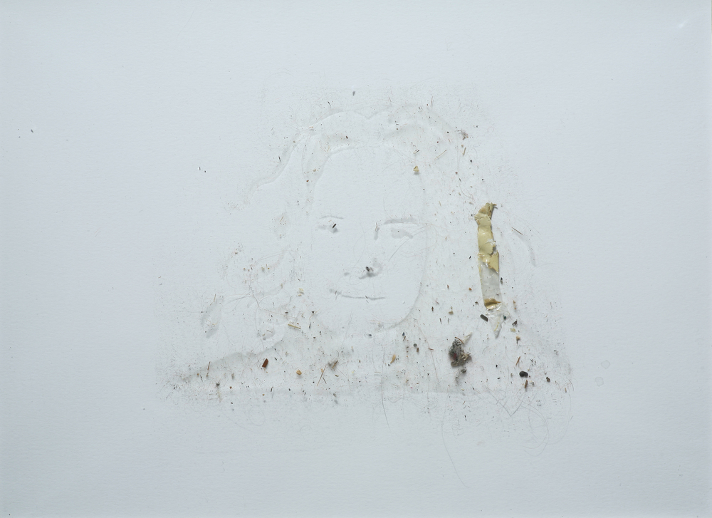 Self Portrait with Studio Dust, November, 2011