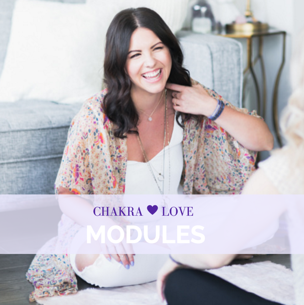 Chakra-Love Masterclass Modules
