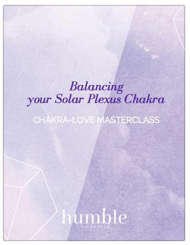 Balancing your solar plexus chakra