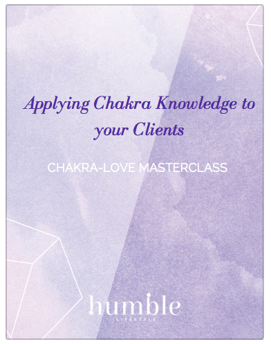 Applying Chakra Knowledge to your clients