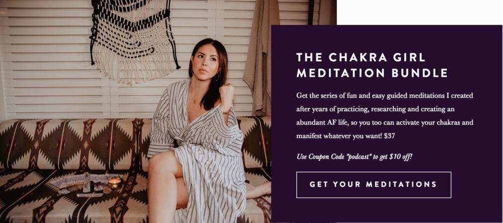 Chakra Girl Meditation Bundle