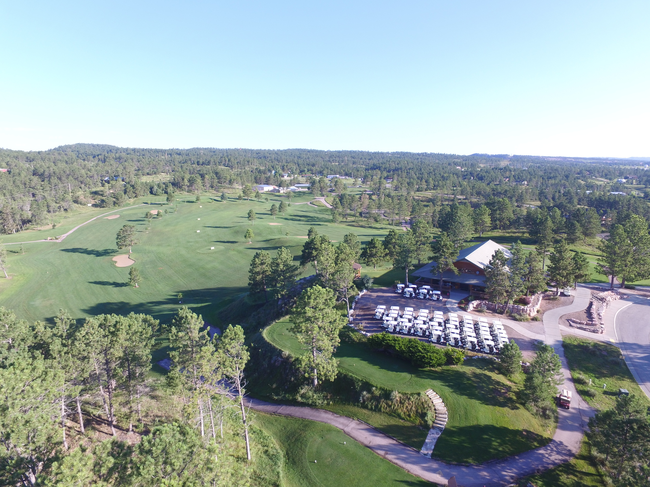 Southern hills golf course hot springs sd soak in south dakotas premier public golf course sciox Image collections