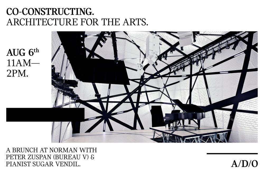 Co constructing architecture for the arts u sugar vendil
