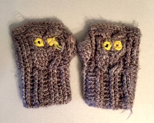Pop-Up Owl Mittens — String and Twig