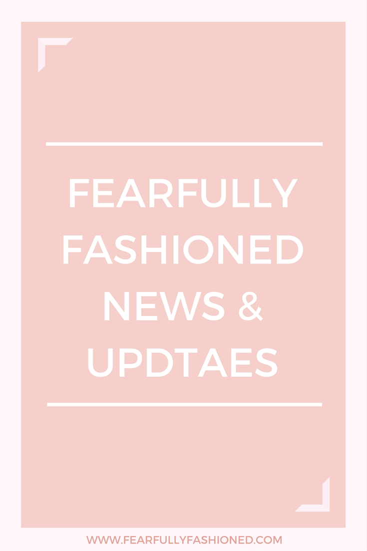 Fearfully Fashioned News & Updates | Fearfully Fashioned