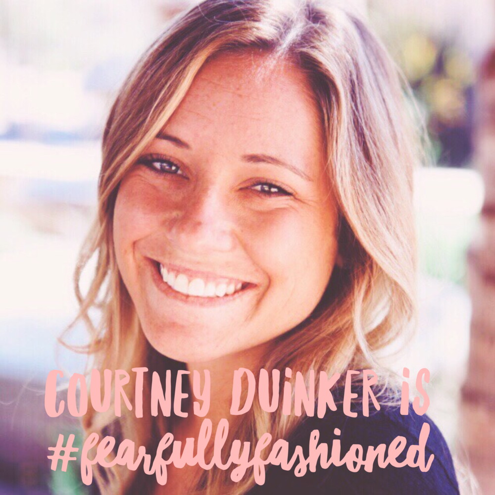 Courtney Duinker is #FearfullyFashioned | Fearfully Fashioned #purposedriven #IAMFearfullyFashioned