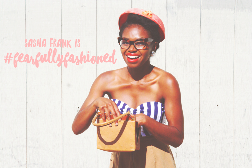 Sasha Frank is #Fearfully Fashioned | Fearfully Fashioned -- Sasha Frank is #FearfullyFashioned. As a blogger and singer/songwriter she uses her platform to showcase style, music, inspiration, and her story. Having to let go of control and place her goals in God's hands, Sasha had to step outside of her comfort zone and trust God's direction for her life. Click here to read more of Sasha's story or pin to save for later. #purposedriven #IAMFearfullyFashioned #FearfullyFashioned