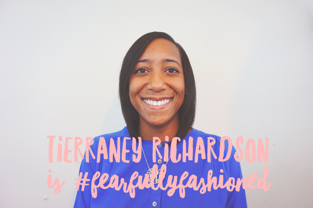 Tierraney Richardson is #FearfullyFashioned | Fearfully Fashioned -- Tierraney Richardson is #FearfullyFashioned. She is the founder of She Is Set Apart, an online ministry that helps women to maximize and view their singleness from a Biblical perspective. To read more of Tierraney's story click here or pin to save for later. #purposedrivenwomen #IAMFearfullyFashioned #FearfullyFashioned